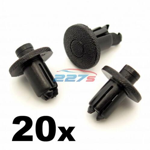 90467-09139 FORI 9mm PARAURTI in plastica 20x Clip per Toyota