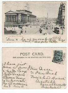 Great-Britain-ROCK-FERRY-BIRKENHEAD-1903-squared-circle-cancel-on-KEV11-postcard