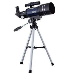 AMSCOPE-300-70mm-Compact-Telescope-for-Kids-Beginners-Astronomical-Refractor