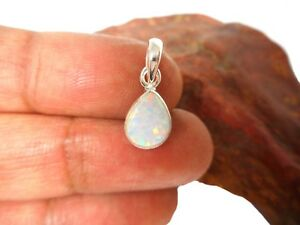 White-Opal-Sterling-Silver-925-Gemstone-Pendant