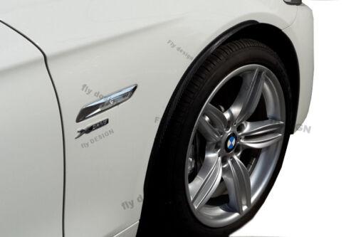 Ford Focus tuning felgen 2x Radlauf Verbreiterung CARBON look Kotflügel Leisten