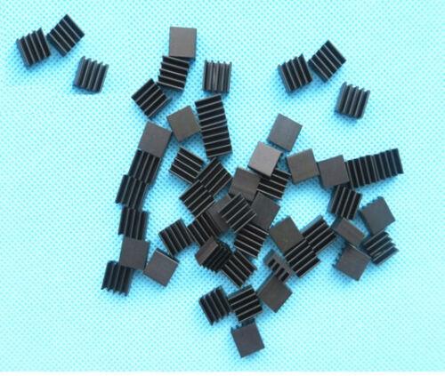 20PCS NEW Heat sink 8.8x8.8x5mm High quality MINI HeatSink Color Black