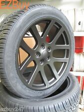 "22"" Dodge Ram 1500 SRT10 Style Satin Black Wheels and 305-45-22 Nexen Tires 2223"