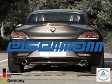 EISENMANN BMW Z4 E89 sDrive 35i / 35is 2x76mm DAS ORIGINAL ! Edelstahl