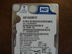 wd1600bevt-60zct1 driver