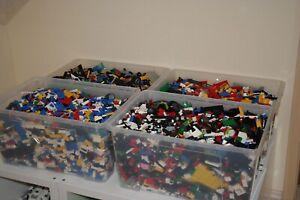 Lego-1kg-gemischt-Classic-Basic-Steine-Platten-Rader-Kiloware-Konvolut