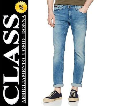 Tommy Hilfiger Jeans Pantaloni Uomo Denim Mod. SCANTON DWLBLST (911) L32 ( 30%) | eBay