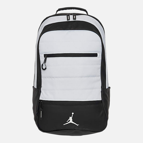 2e77efccbe9e NEW Nike Air Jordan Airborne Backpack Black White Flight 9A1944 001 Retail   85