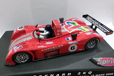 Kinderrennbahnen Reasonable Reynard 2kq 24h Le Mans 2000 1/32 Spirit Exquisite Traditional Embroidery Art