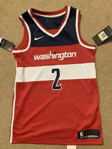 sports shoes 723c4 15003 Details about Nike NBA Washington Wizards John Wall Swingman Jersey Men's  Small