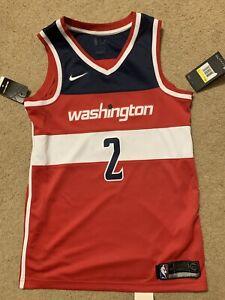 sports shoes 0c022 bf84a Details about Nike NBA Washington Wizards John Wall Swingman Jersey Men's  Small