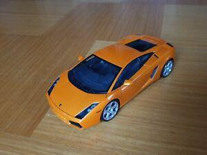 1-18-Lamborghini-Gallardo-Autoart-Orange-Modellauto