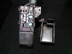 Details about Honda Accord CL7 CL9 Fuse Box 2.0 Petrol Vtec on