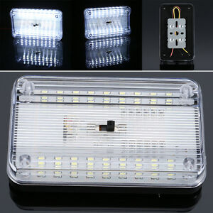 Roof-Ceiling-Interior-Auto-Reading-Trunk-Light-Lamp-12v-Car-Dome-LED-Lights