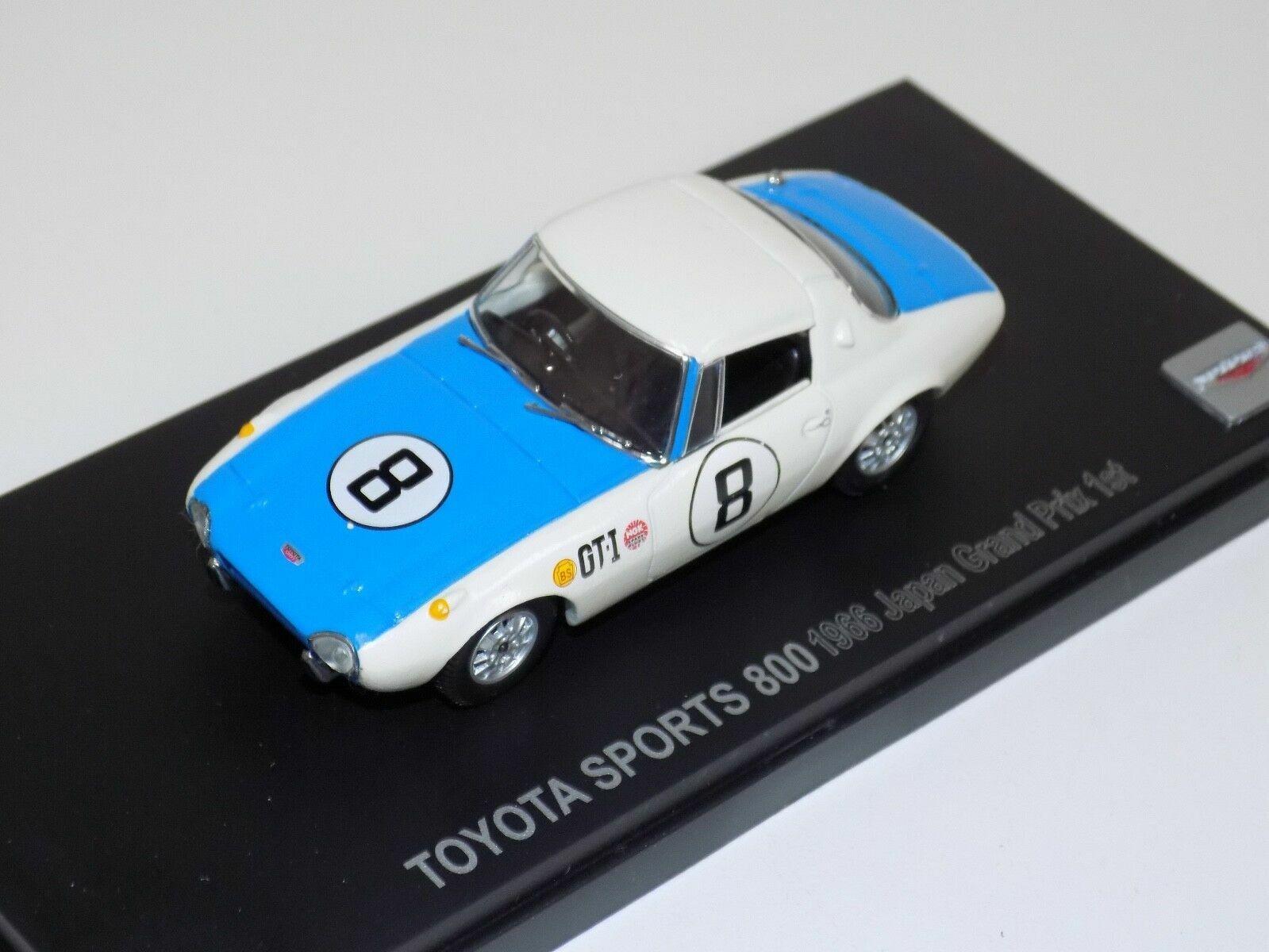TOYOTA SPORTS 800 #8 1ST JAPAN GP 1966 TAKAHASHI KYOSHO 030982E 1/43 JAPAN