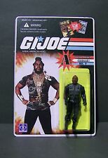 "Custom GI Joe figure and package of "" Mr T"" from A - Force                a team"