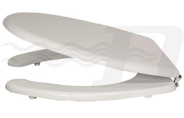 Seduta sedile coprivaso Gabriel legno bianco copriwater per disabili