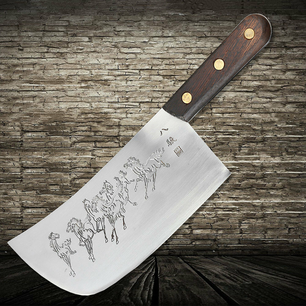 Chopping Chef Knife Traditional Handmade Clip Steel Slicing Meat Forged Kinfe