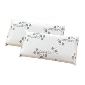 Pack-de-2-almohadas-Visco-Copos-Carbono-70-cm