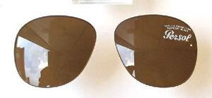 Verres 49 remplacement de Persol Glasses de Brown Brown 33 649 Verres rechange qxqIr5wdO