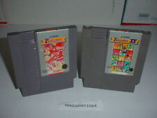 TRACK & FIELD 1 & 2 both games cartridge only Nintendo NES system