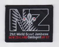 2007 World Scout Jamboree NEW ZEALAND / NZ SCOUTS Contingent Patch