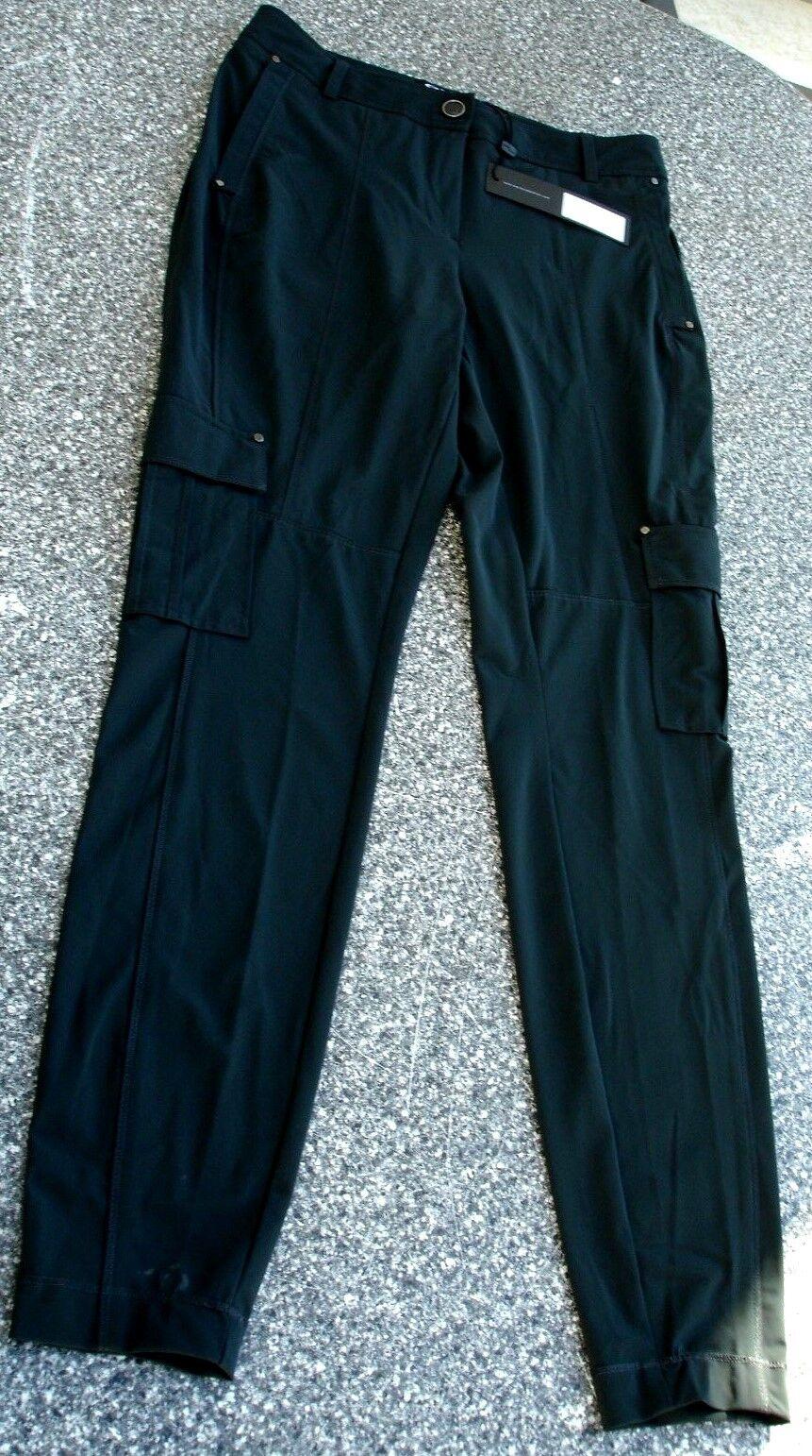 Exklusive Expresso Hose 34 black Bundweite76cm v Trendhaus Woman Np,119,95-