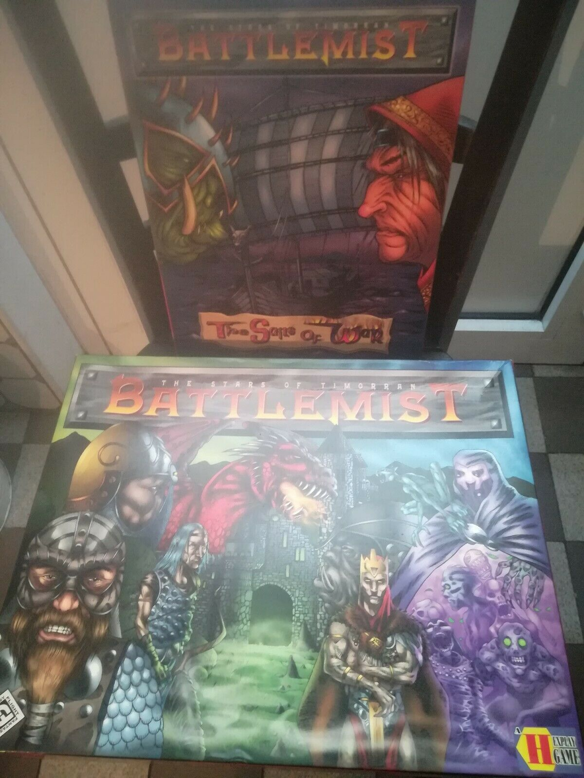 Battlemist+Sails of War Erw.   Fantasy Flight   Sammelauflösung   Fantasy   Rar