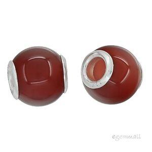 Kettingen, hangers Sterling Silver Turquoise Barrel Charm Bead Fit European Bracelet #94096