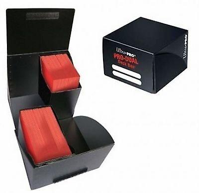 Porta Mazzo Ultra PRO Magic PRO DUAL Standard 180 Black Deck Box Nero Carte MTG