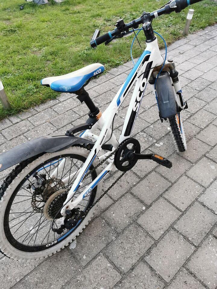 Drengecykel, mountainbike, SCO