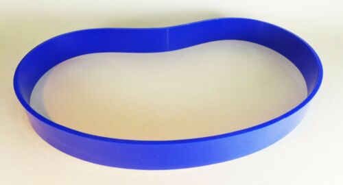 """6/"""" X 1//2/"""" Urethane Band Saw TIRES Set of 2 Belts Blue 0.125/"""" Ultra Thick USA"""