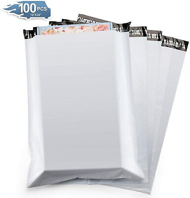 100Pcs Poly Mailers Shipping Envelopes Self Sealing Mailing Bags Plastic S8G5