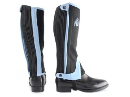 HY TWO TONE AMARA HALF  CHAPS FOR  LDREN  LDS CHAPS FOR HORSE RIDERS  at cheap