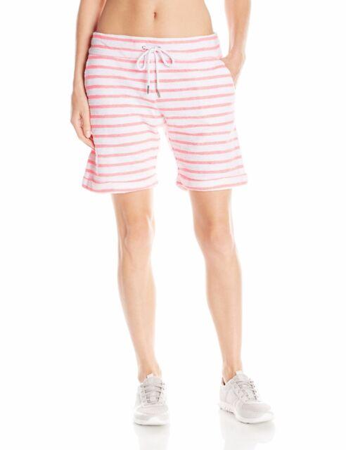 027e8fafe82a3 Calvin Klein Performance Women s Stripe Boucle Short Neon Calypso ...