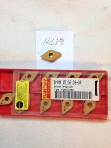 10-NEW-SANDVIK-DNMM-442-QR-CARBIDE-INSERTS-DNMM-150608-QR-GRADE-415-H689