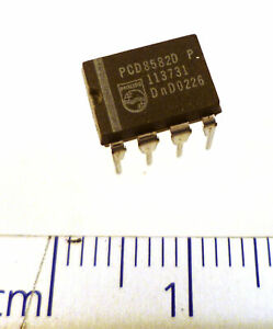 Genuine Philips PCD8582D P 256x8-bit CMOS EEPROM 8PDIP OMS1-28