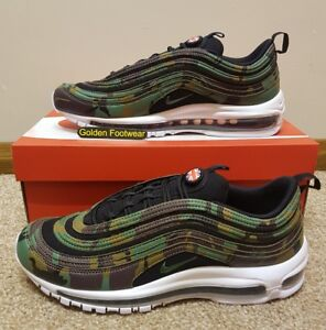 Nike Air Max 97 Premium QS Camo UK Country Pack Size 11 UK Genuine ... d79e964b8