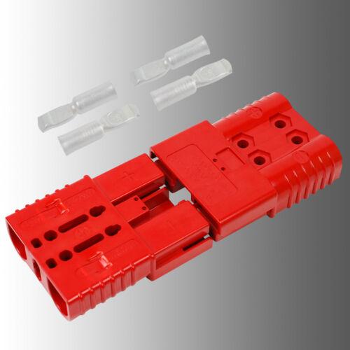 Conjunto de conector de batería con embrague rojo anderson SBE 160//rema ere 160 a 35mm²