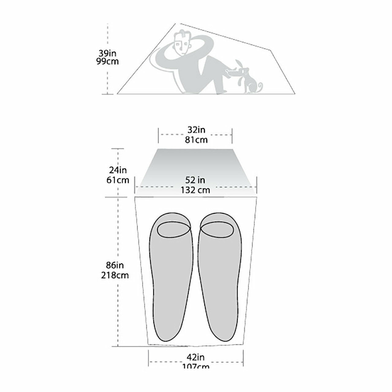 Big Agnes - Fly Creek HV 2 Platinum Tent - Agnes New c85ca1