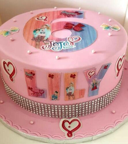 Pokemon Inspiré nom et numéro personnalisé gâteau comestible glaçage Topper