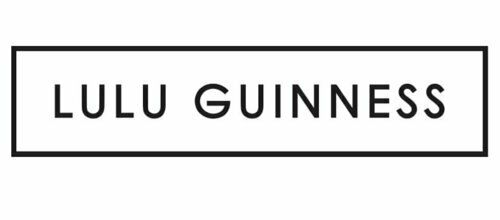 Lulu Guinness Stripe And Heart Black /& White Tiny Folding Umbrella Handbag Size