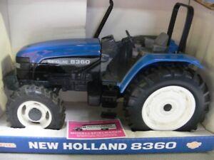1/16 Ertl New Holland Tracteur 8360 Bleu Aussi Efficacement Qu'Une FéE