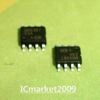 50PCS RS-485//RS-422 Transceiver IC MAXIM SOP-8 MAX487CSA MAX487CSA MAX487