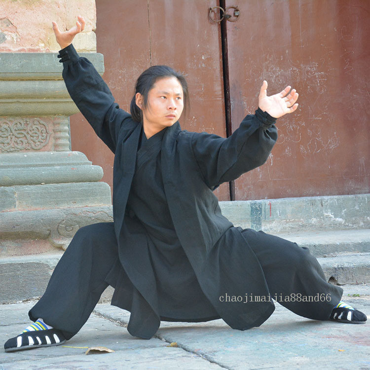 Wudang Taoist Robe  Kung Fu Tai   Suit  Martial Arts Wu Shu Surplices Uniform  convenient
