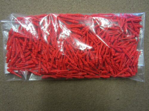 500 Micro Star Dart Tips Red w// FREE Shipping