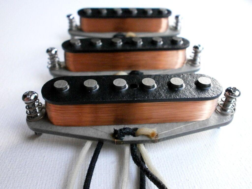 Stratocaster Alnico 2 5 mezclado mezclado mezclado Imanes Pastillas personalizado establecido por q se ajusta Fender  gran venta