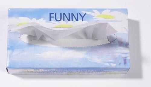 Funny cosméticos pañuelos box donante 100 pañuelos