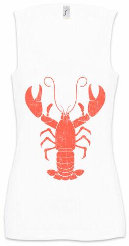 Lobster II Damen Tank Top Fischer Fischen Angeln Angler Hummer Krebs Fishing