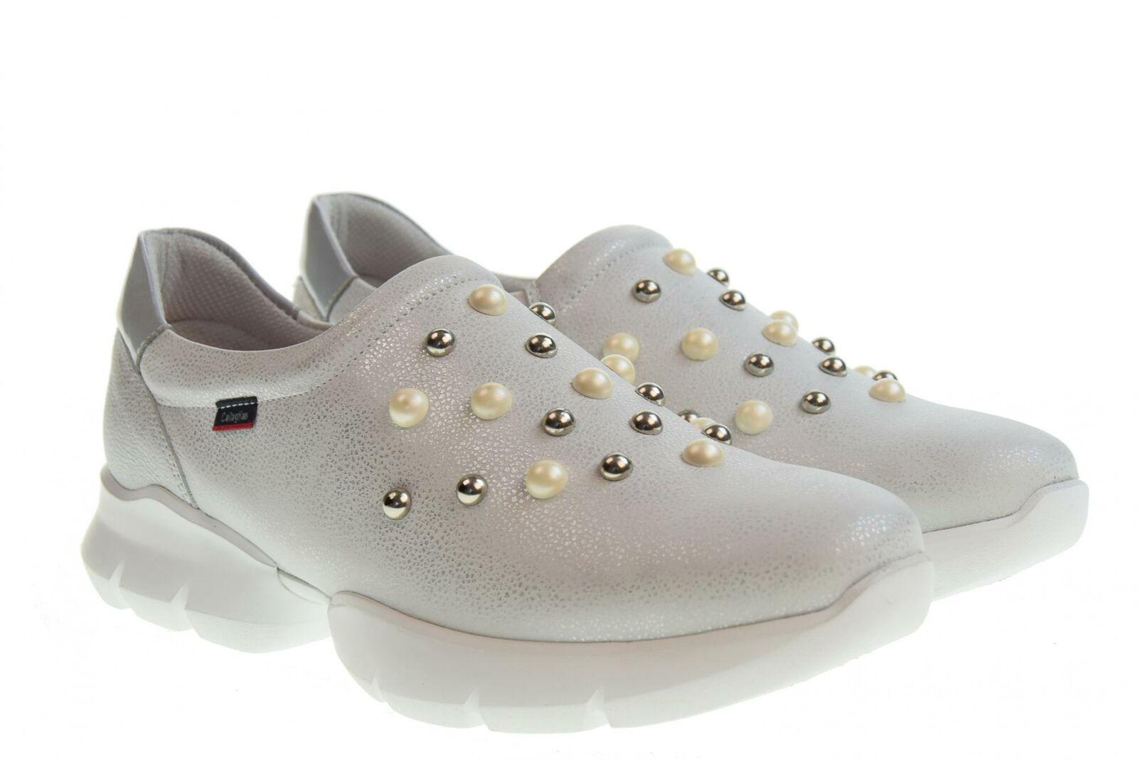 Callaghan p19g Mocassins Pour Femmes Chaussures 18701 Argento/Grigio
